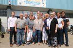 Kandidatinnen und Kandidaten der Nordhorn CDU besuchen die Eissporthalle