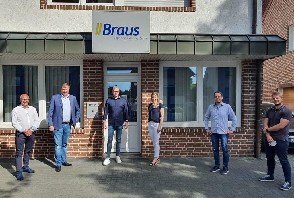 CDU Nordhorn zu Gast bei Fa. Braus