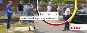 Lärmschutz an der Veldhauser Straße im Bereich der Nordumgehung verbessern